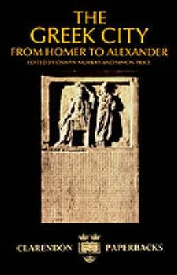 The Greek City: From Homer to Alexander