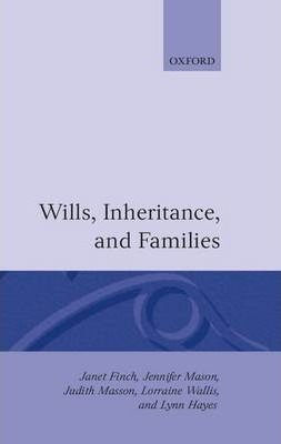 Wills, Inheritance and Families