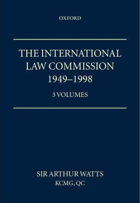 International Law Commission 1949-1998: v. 1, 2 & 3