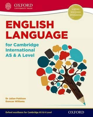 English Language for Cambridge International AS & A Level: Student Book