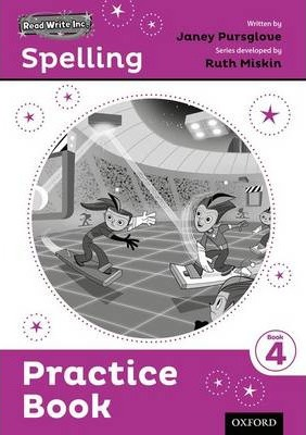 Read Write Inc. Spelling: Practice Book 4 Pack of 30