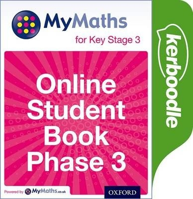 Mymaths: for Key Stage 3: Online Student Book Phase 3