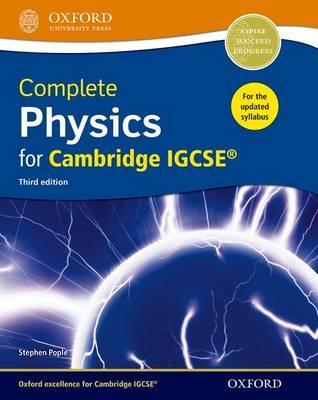 Complete Physics for Cambridge IGCSE Student Book : Stephen Pople
