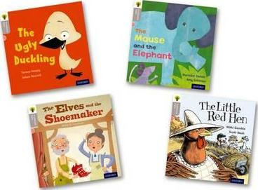 Oxford Reading Tree Traditional Tales: Level 1: Pack of 4