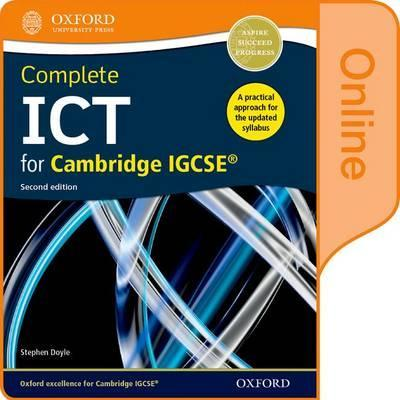 Complete ICT for Cambridge IGCSE Online Student Book