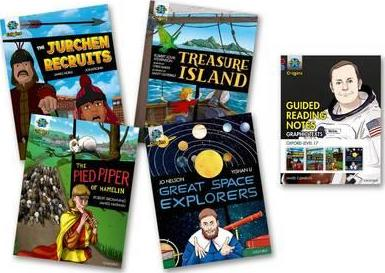 Project X Origins Graphic Texts: Dark Red Book Band, Oxford Level 17: Mixed Pack of 4