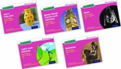 Read Write Inc. Phonics Pink Set 3 Non-fiction Mixed Pack of 5