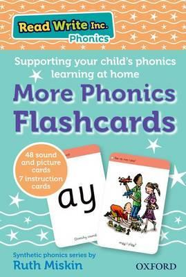 Read Write Inc. Phonics: More Phonics Flashcards