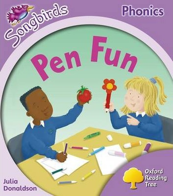 Oxford Reading Tree: Level 1+: More Songbirds Phonics : Pen Fun