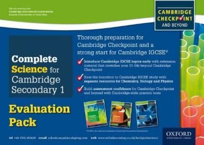 COMPLETE SCI CAM SEC 1CHECK EVAL PACK