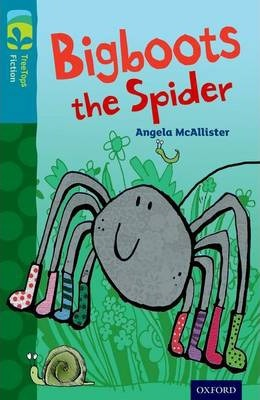 Oxford Reading Tree TreeTops Fiction: Level 9 More Pack A: Bigboots the Spider
