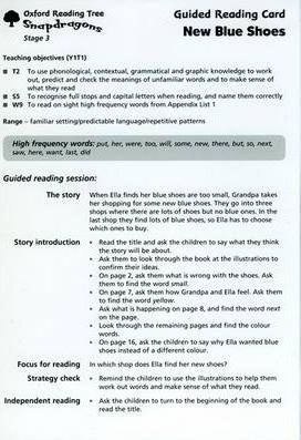 Oxford Reading Tree: Stage 3: Snapdragons: Guided Reading Cards (6 Per Pack)