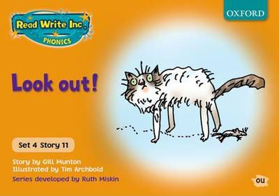 Read Write Inc  Phonics: Orange Set 4 Storybooks: Look Out! : Gill