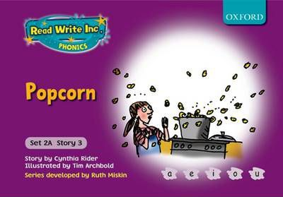 Read Write Inc Phonics Fiction Purple Set 2a Popcorn Ms Cynthia Rider 9780198468523
