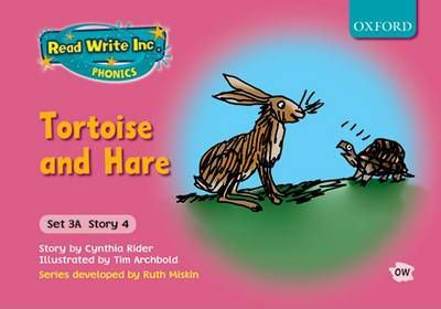 Read Write Inc. Phonics: Fiction Set 3A (pink): Tortoise and Hare: Set 3a, story 4