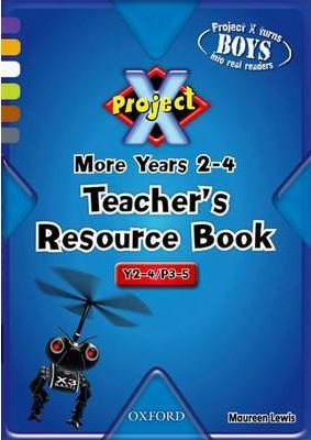 Project X: Year 2-4/primary 3-5 - More Purple to Grey Clusters: Teacher's Resource Book: Age 6-9
