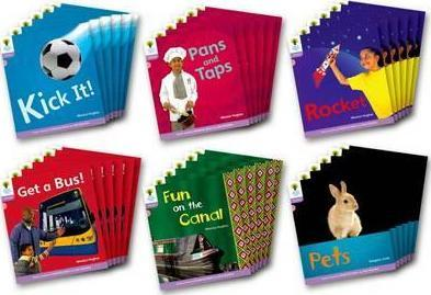 Oxford Reading Tree Level 1+ Floppy's Phonics Non-Fiction Class Pack of 36