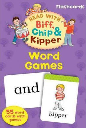 Oxford Reading Tree Read with Biff, Chip, and Kipper: Word Games Flashcards