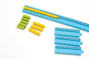 Image result for numicon number tracks