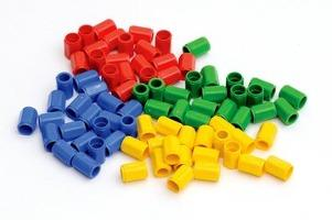 Numicon: 80 Coloured Pegs