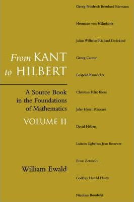 From Kant to Hilbert Volume 2