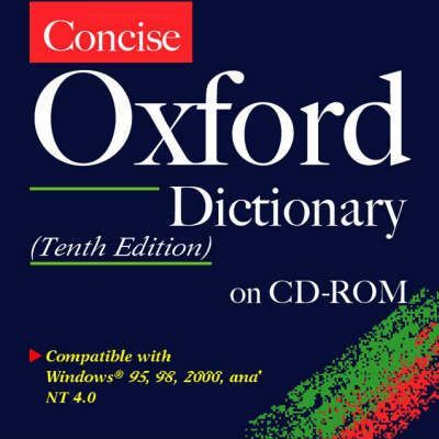 Concise Oxford Dictionary: CD-Rom