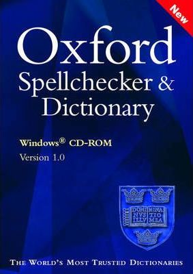 Oxford Spellchecker and Dictionary: Windows Only