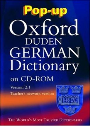 Pop-up Oxford-Duden German Dictionary: Windows Schools' Network Version 2.1