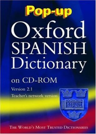 Pop-up Oxford Spanish Dictionary: Windows Schools' Network Version 2.1
