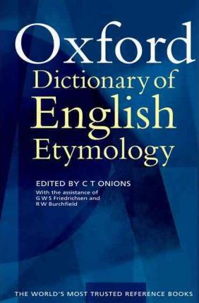 Etymology Dictionary Pdf