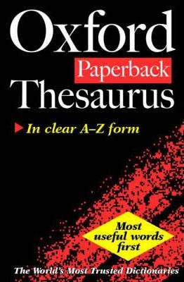 Oxford Paperback Thesaurus