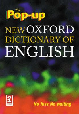 The Pop-up New Oxford Dictionary of English on CD-ROM