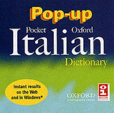 The Pop-up Pocket Oxford Italian Dictionary