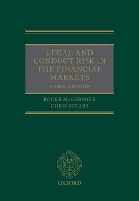 Legal and Conduct Risk in the Financial Markets
