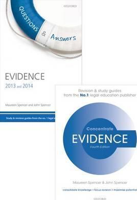 Evidence Revision Pack 2015