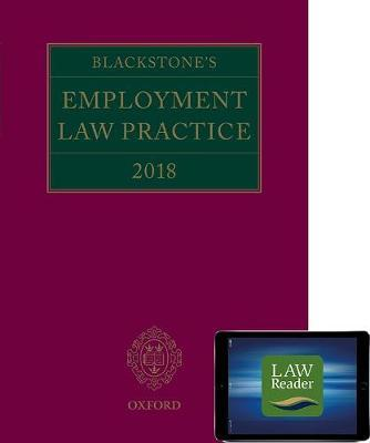 Blackstone's Employment Law Practice 2019 (book and digital pack