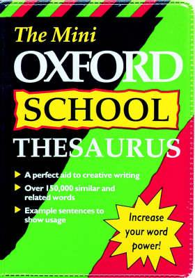 MINI OXFORD SCHOOL THESAURUS