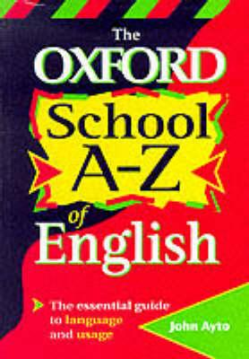OXFORD A-Z OF ENGLISH