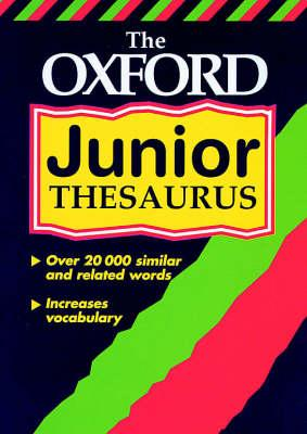 OXFORD JUNIOR THESAURUS NEW ED 00