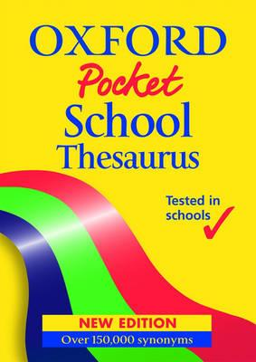 DICTIONARIES & THESAURUS POCKET SCHOOL THESAURUS