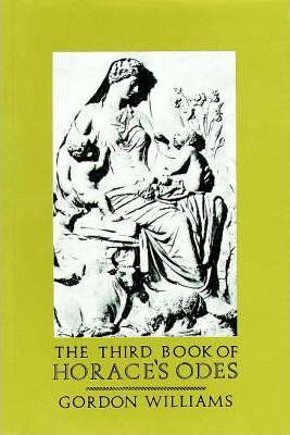 The Third Book of Horace's Odes Bk.3