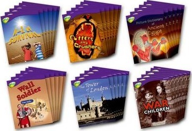 Oxford Reading Tree: Level 11: Treetops Non-Fiction: Class Pack (36 books, 6 of each title)