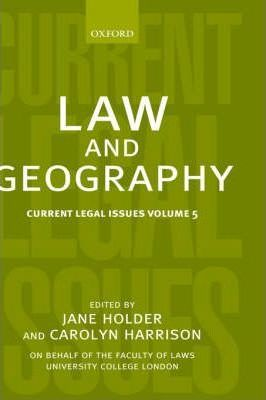 Law and Geography