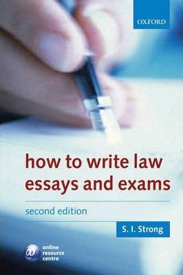 how to write law essays and exams s i strong  how to write law essays and exams