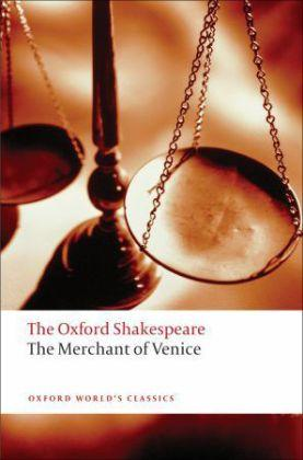 The Merchant of Venice: The Oxford Shakespeare Cover Image