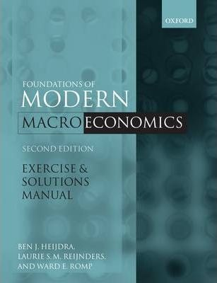exercise and solutions manual to accompany foundations of modern rh bookdepository com Owners Manuals for Exercise Equipment foundations of modern macroeconomics exercise and solutions manual