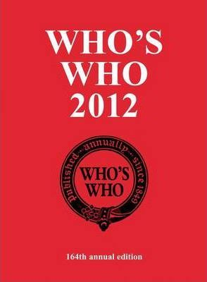 Who's Who 2012