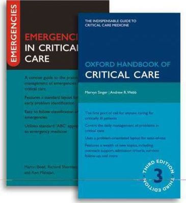 Oxford Handbook of Critical Care and Emergencies in Critical Care Pack