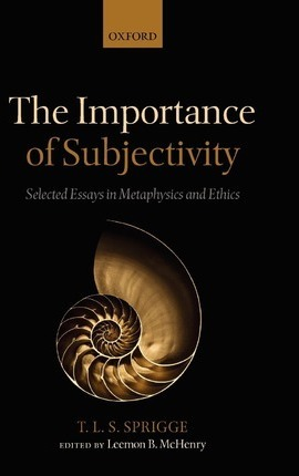 The Importance of Subjectivity