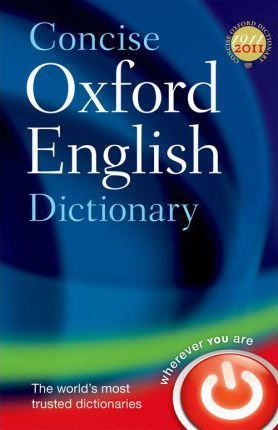 Concise Oxford English Dictionary Cover Image